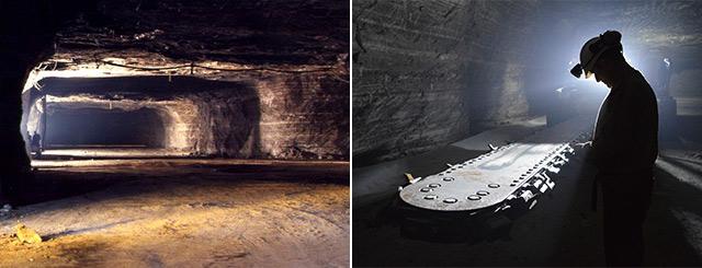 Visites de mines de sel Varangéville Lorraine Grand Est