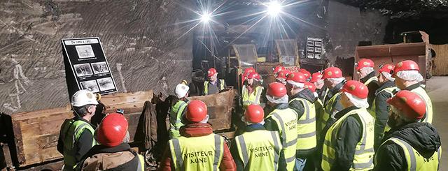 Visites des Mines de Sel de Varangéveille 2020 Lorraine Meurth-et-Moselle