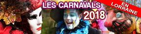Toutes les DATES des Principaux  Carnavals Traditionnels ou Vénitiens