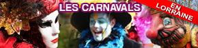 Carnavals en Lorraine 2020