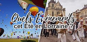 Quels événements été 2021 en Lorraine