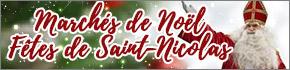 Marchés de Noël et Saint-Nicolas 2019 en Lorraine Moselle, 88, 54 Grand-Est