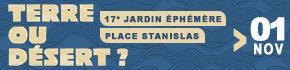 Jadrin Ephémère Nancy Place Stanislas Terre ou Désert 2020