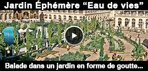 Jardin ephemere Place Stanislas