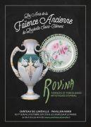 Exposition Faïenceries Rovina au Château de Lunéville 54300 Lunéville du 01-06-2017 à 10:00 au 31-10-2017 à 18:00
