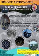 Séjour Astronomie Enfants au départ d'Epinal 88000 Epinal du 20-02-2017 à 06:00 au 24-02-2017 à 16:00