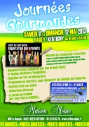 Journées gourmandes Maison Moine Rasey/Xertigny 88220 Xertigny du 11-05-2013 à 08:00 au 12-05-2013 à 17:00