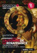 Exposition Automne de la Renaissance Nancy 2013 54000 Nancy du 04-05-2013 à 08:00 au 04-08-2013 à 16:00