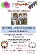 Spectacle Danses Folkloriques à Champdray 88640 Champdray du 08-06-2013 à 18:30 au 08-06-2013 à 21:00