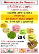 Les Nocturnes du Terroir 57480 Sierck-les-Bains du 05-07-2013 à 16:00 au 02-08-2013 à 00:00