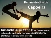 Démonstration de Capoeira à Mittersheim 57930 Mittersheim du 30-06-2013 à 13:00 au 30-06-2013 à 14:30