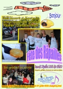 Fête Beignets Patates Râpailles Champdray 88640 Champdray du 27-07-2013 à 17:30 au 28-07-2013 à 00:00