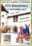 Fête Renaissance à Villey-saint-Etienne 54200 Villey-Saint-Étienne du 22-09-2013 à 08:00 au 22-09-2013 à 16:00