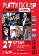Spectacle Plattditsch Grenzenlos à Bitche 57230 Bitche du 27-10-2013 à 12:30 au 27-10-2013 à 16:00