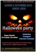 Halloween Party à Velaine-en-Haye 54840 Velaine-en-Haye du 02-11-2013 à 18:00 au 03-11-2013 à 00:00