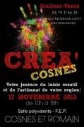 Créa'Cosnes à Cosnes-et-Romain 54400 Cosnes-et-Romain du 17-11-2013 à 08:00 au 17-11-2013 à 16:00