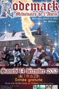 Marché Noël Rodemack Médiévales de l'Avent 57570 Rodemack du 14-12-2013 à 09:00 au 14-12-2013 à 21:00