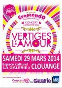 Concert Chorale Pop Rock à Clouange 57185 Clouange du 29-03-2014 à 18:30 au 29-03-2014 à 20:30