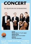 Concert de Musique Classique à Aumetz 57710 Aumetz du 01-03-2014 à 16:00 au 01-03-2014 à 17:30