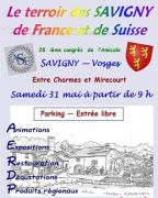 Salon du Terroir des Savigny de France et Suisse 88130 Savigny du 31-05-2014 à 09:00 au 31-05-2014 à 18:00