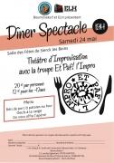 Dîner Spectacle Théâtre d'improvisation Sierck-les-Bains 57480 Sierck-les-Bains du 24-05-2014 à 19:00 au 24-05-2014 à 23:00