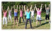 Stages Vitrail, Yoga, Ennéagramme au Chalet Nature Le Tholy 88530 Le Tholy du 12-07-2014 à 14:00 au 25-07-2014 à 14:00