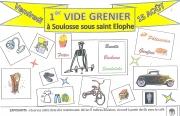 Vide-Grenier à Soulosse-sous-Saint-Elophe 88630 Soulosse-sous-Saint-Elophe du 15-08-2014 à 04:00 au 15-08-2014 à 16:00