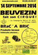 Bric à Brac Marché des Produits Locaux à Beuvezin 54115 Beuvezin du 14-09-2014 à 05:00 au 14-09-2014 à 15:00