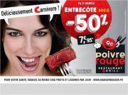 Offre Spéciale moins 50% Poivre Rouge Jarville 54140 Jarville-la-Malgrange du 20-09-2014 à 09:00 au 28-09-2014 à 18:00