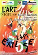 L'Art s'Expose L'Art Explose à Golbey 88190 Golbey du 16-10-2014 à 08:00 au 19-10-2014 à 16:30