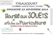 Bourse aux Jouets, Vêtements à Thiaucourt-Regnéville 54470 Thiaucourt-Regniéville du 23-11-2014 à 11:00 au 23-11-2014 à 16:00