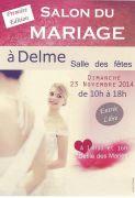 Salon du Mariage à Delme 57590 Delme du 23-11-2014 à 08:00 au 23-11-2014 à 16:00