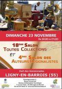 Salon Toutes Collections à Ligny-en-Barrois 55500 Ligny-en-Barrois du 23-11-2014 à 06:30 au 23-11-2014 à 15:30