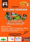 Course Canine Cani-Vosgien à Bois-de-Champ 88600 Bois-de-Champ du 15-03-2015 à 06:00 au 15-03-2015 à 14:30