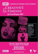 Exposition Créativité et Féminin à Cattenom 57570 Cattenom du 05-03-2015 à 08:00 au 28-03-2015 à 15:00