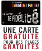 Gaumont Pathé Amnéville : carte de fidélité gratuite