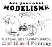 Les Journées Modélisme à Pompey 54340 Pompey du 11-04-2015 à 12:00 au 12-04-2015 à 15:00