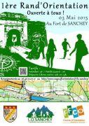 Marche d'Orientation au Fort de Sanchey 88390 Sanchey du 03-05-2015 à 08:00 au 03-05-2015 à 15:00