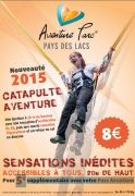 Catapulte Aventure Vosges Alsace Lac Pierre Percée 54540 Badonviller du 04-04-2015 à 08:00 au 11-10-2015 à 16:30