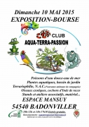 Exposition Bourse Aqua-Terra-Passion à Badonviller 54540 Badonviller du 10-05-2015 à 08:00 au 10-05-2015 à 15:30