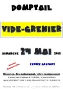 Vide Grenier à Domptail 88700 Domptail du 24-05-2015 à 04:00 au 24-05-2015 à 16:00