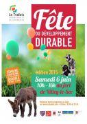 Fête du Développement Durable à Villey-le-Sec 54840 Villey-le-Sec du 06-06-2015 à 08:00 au 06-06-2015 à 14:00