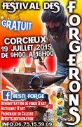Appel à Forgerons pour le Festi-Forge de Corcieux 88430 Corcieux du 01-06-2015 à 06:00 au 25-06-2015 à 18:00