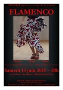 Soirée Flamenco à Hagondange 57300 Hagondange du 13-06-2015 à 18:00 au 13-06-2015 à 21:00