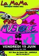Fête de la Musique Années 80 à Anould 88650 Anould du 19-06-2015 à 17:00 au 19-06-2015 à 21:00