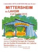 Animations Mittersheim au Lavoir  57930 Mittersheim du 04-07-2015 à 12:00 au 05-07-2015 à 16:00