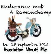 Course d'Endurance à Mobylette à Ramonchamp 88160 Ramonchamp du 12-09-2015 à 10:00 au 12-09-2015 à 21:00