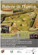 Journées du Patrimoine Eperon de Frouard 54390 Frouard du 19-09-2015 à 12:00 au 20-09-2015 à 16:00