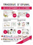 Vente Promo à l'Imagerie d'Epinal 88000 Epinal du 19-09-2015 à 08:00 au 04-10-2015 à 16:30