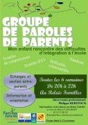 Groupe de Paroles Soutien aux Parents à Colombey-lès-Belles 54170 Colombey-les-Belles du 06-10-2015 à 18:00 au 06-10-2015 à 20:00
